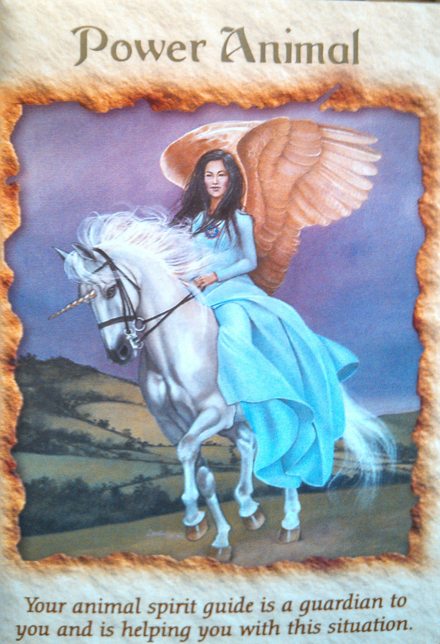 Angel Therapy Oracle Cards Doreen Virtue: April 12, 2013 Card Of The Day ~ Power Animal