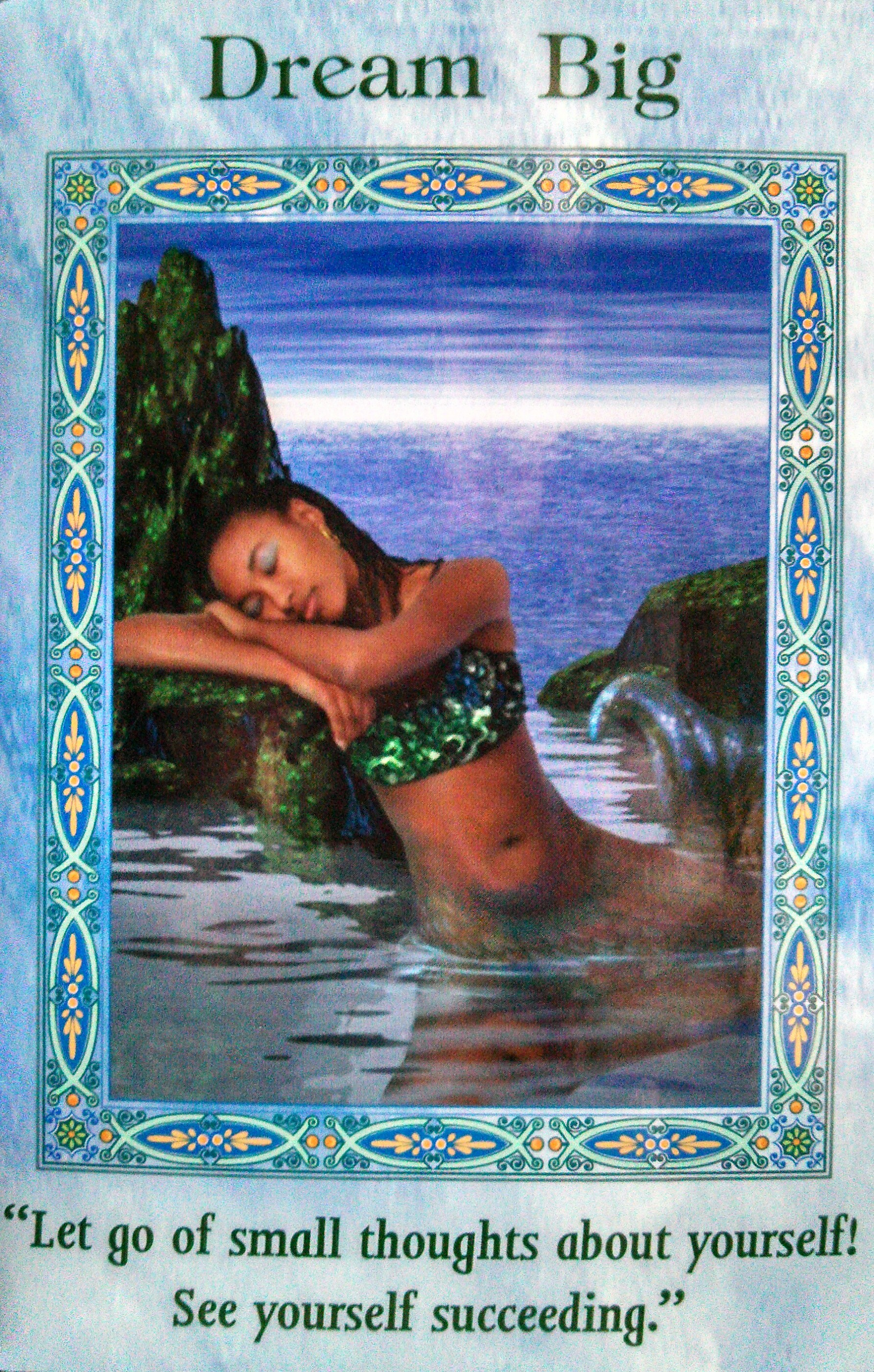 Oracle Card Accept Heaven S Help: Magical Mermaids And Dolphins Oracle Card Deck