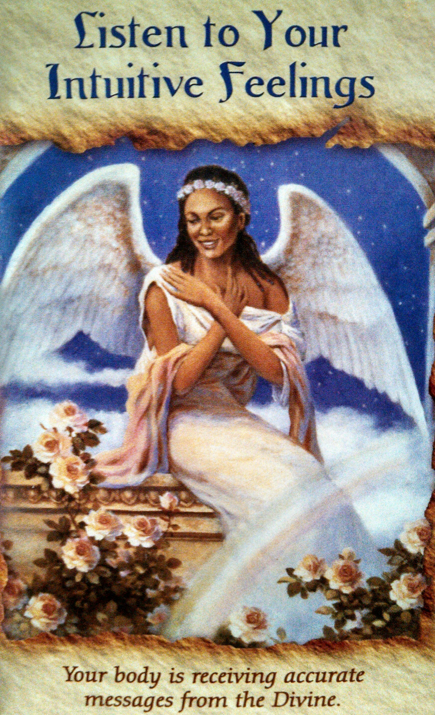 Angel Therapy Oracle Cards Doreen Virtue: Intuitive Integrative Healing Art