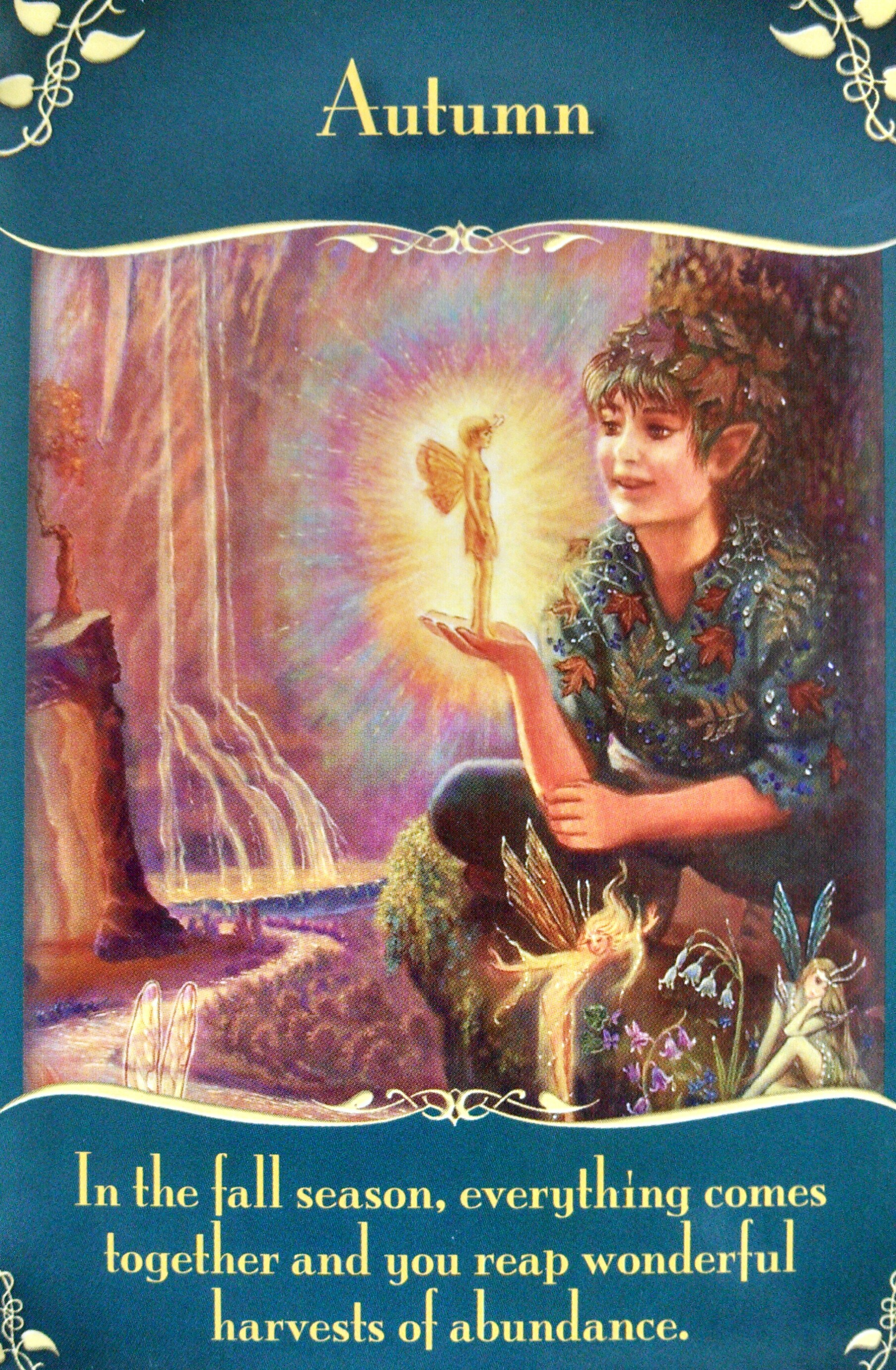 Oracle Card Accept Heaven S Help: Magical Messages From The Fairies Oracle Card Deck